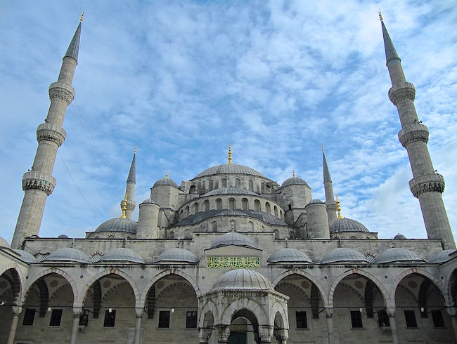 A Blue Sky for the Blue Mosque