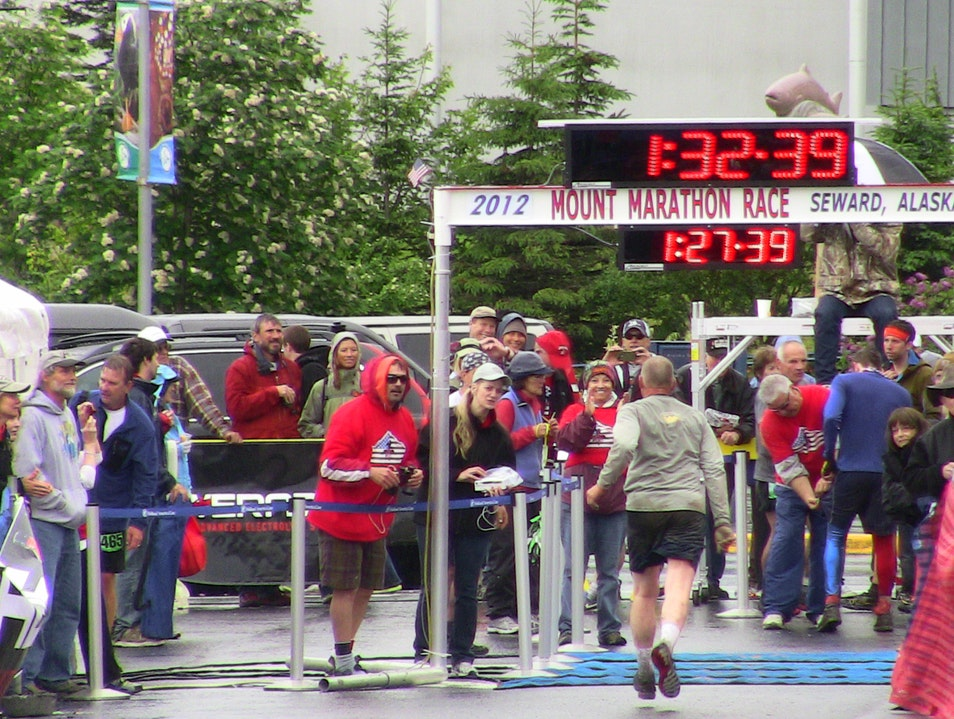 4th of July Marathon Seward Alaska United States