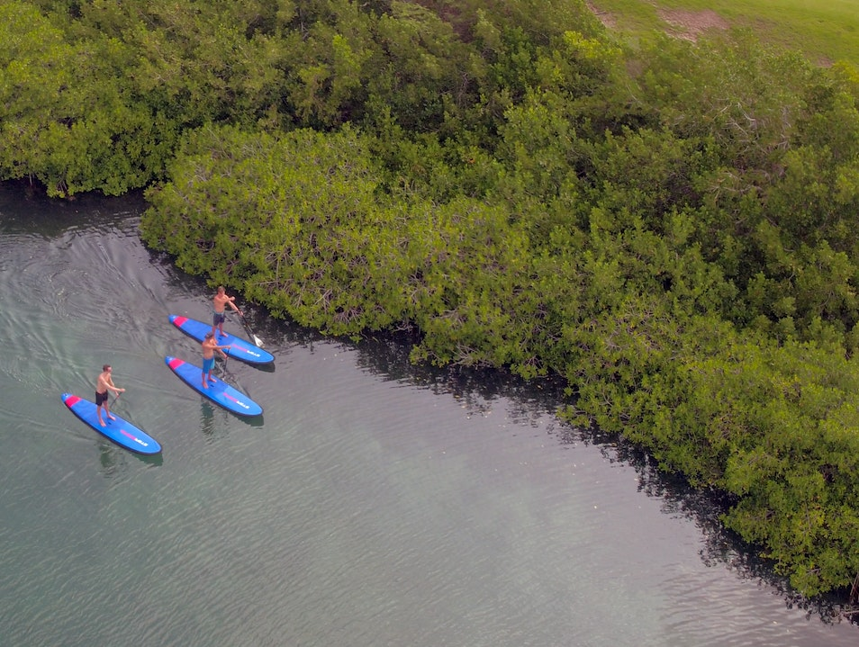 Test Your SUP Skills at Spanish Water Bay Willemstad  Curaçao