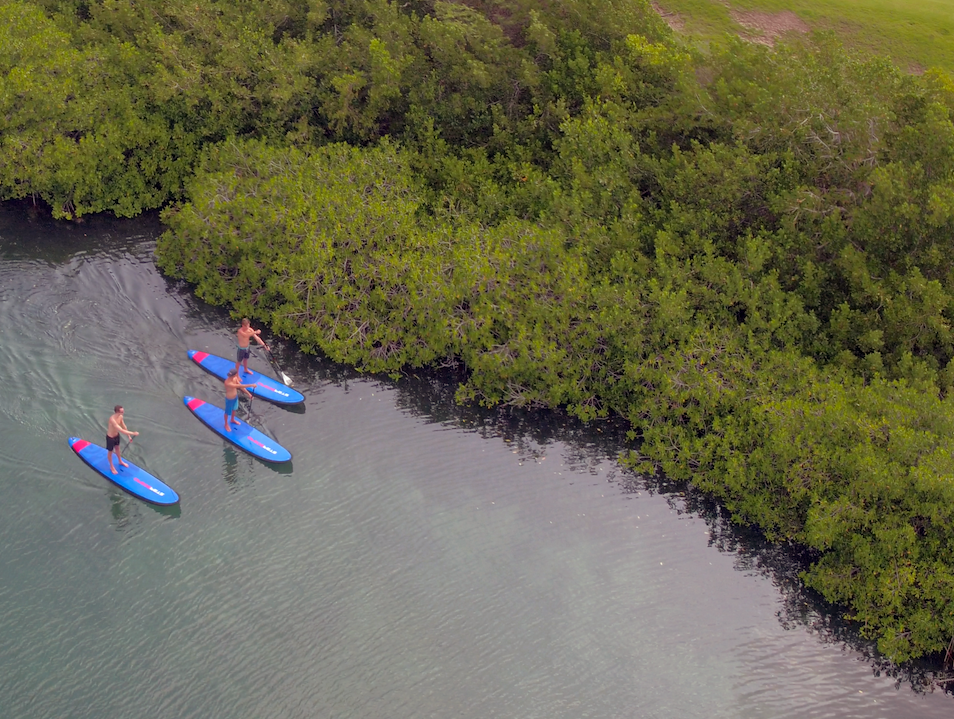 Test Your SUP Skills at Spanish Water Bay