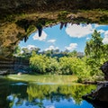 Hamilton Pool Preserve Dripping Springs Texas United States