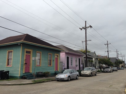 Bywater New Orleans Louisiana United States