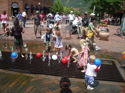The Dancing Water Fountain Aspen Colorado United States