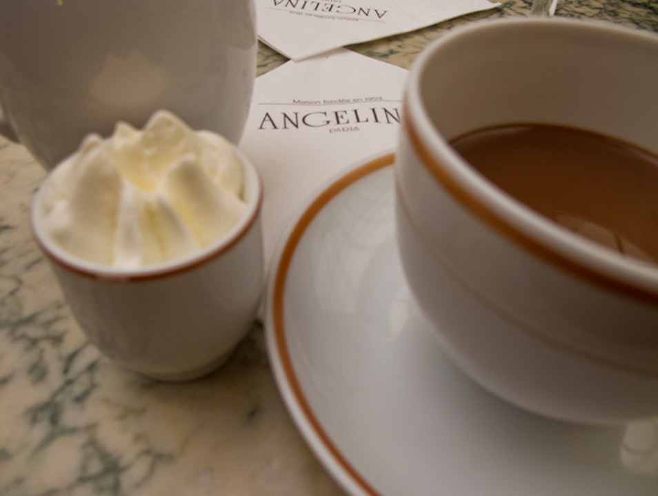 A touristy spot, but still one of the best for hot chocolate! Paris  France