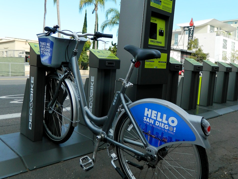 Rent A Bicycle To Get Around Town