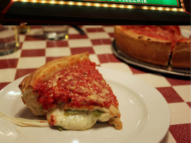 When in Chicago, Get Deep Dish Pizza