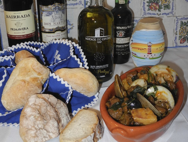 A Hearty Portuguese Meal