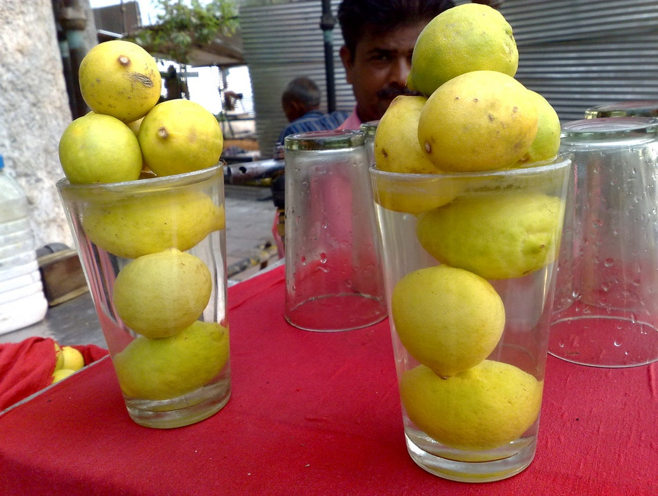 Fresh Juice at Pt. Ved Prakash Lemon Wale New Delhi  India