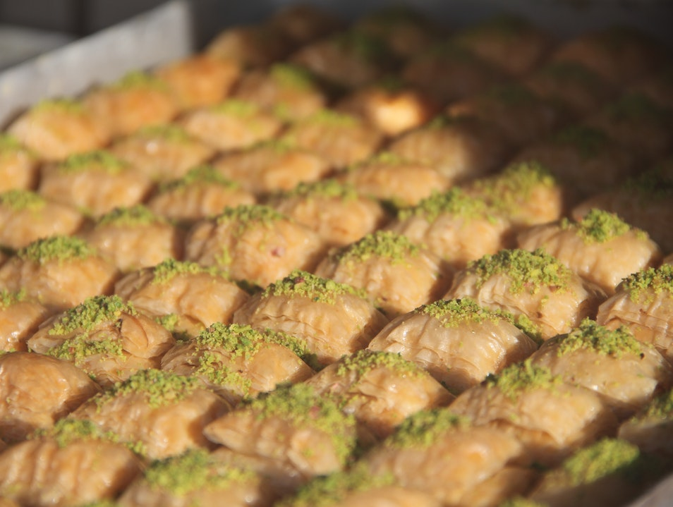 Baklava-Induced Food Coma Istanbul  Turkey