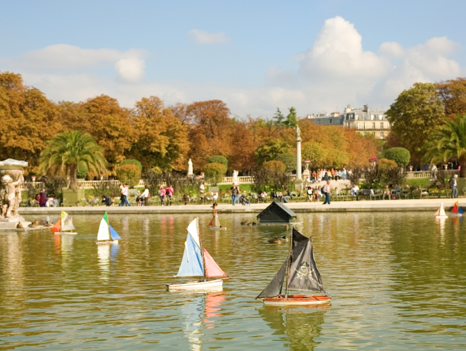 The Boul' Mich' and the Luxembourg Gardens