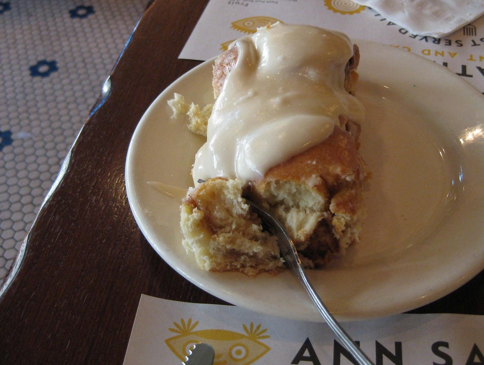 Ann Sather for Cinnamon Rolls Chicago Illinois United States
