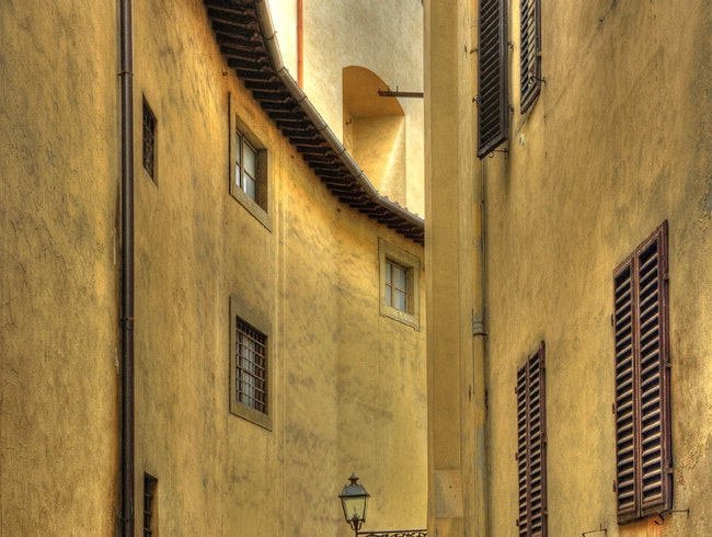 Florence side street....