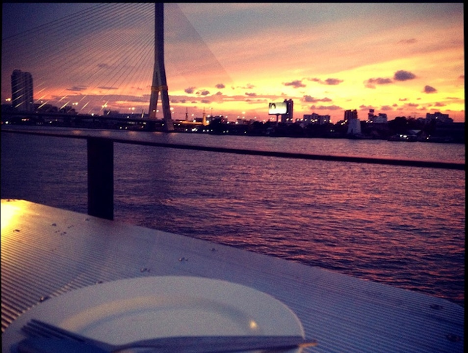 In Love with the Perfect Sunset View in Bangkok Bangkok  Thailand