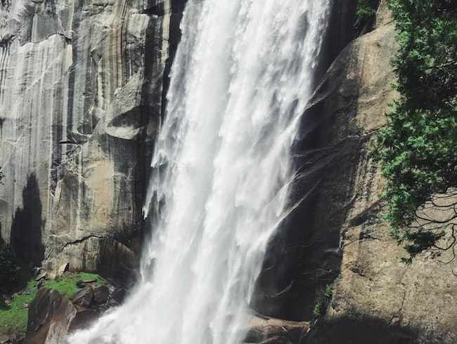 Hike the Mist Trail to Vernal Fall
