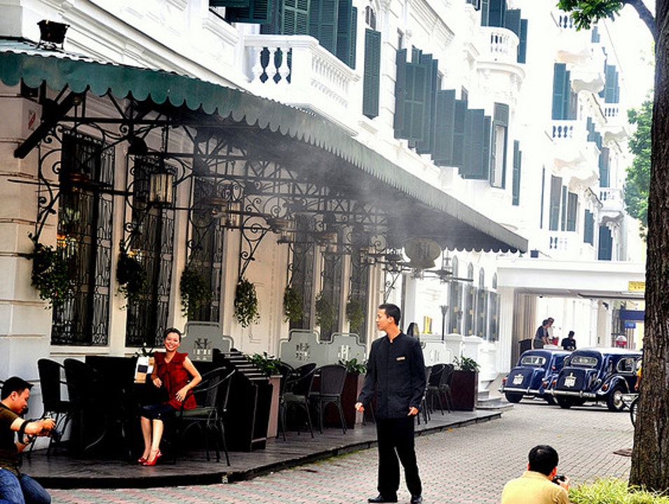Prime People-watching At Hanoi's Most Storied Hotel
