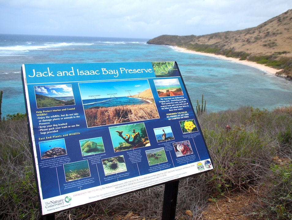 Hike the Isaac and Jack Bay Preserve Christiansted  United States Virgin Islands