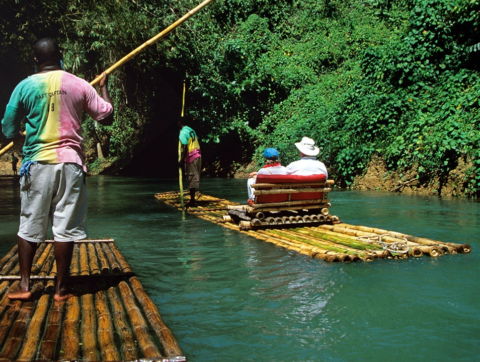 Martha Brae River Rafting Trelawny Parish  Jamaica