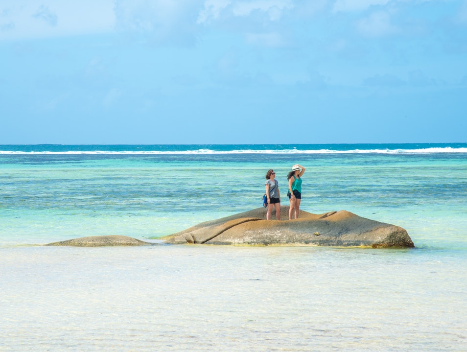 Exploring by Sea and Sand Cascade  Seychelles