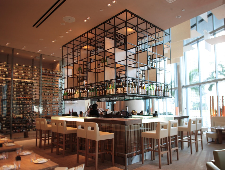 Modern Japanese Dining in the River District Miami Florida United States