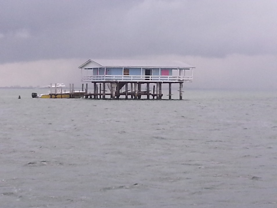 Boat out to Stiltsville Homestead Florida United States