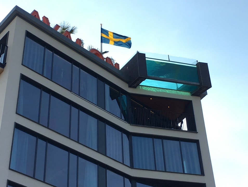 Modern Hotel With Penthouse Pool Gothenburg  Sweden