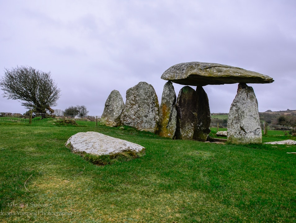 Pentre Ifan burial chamber  Canaston Bridge  United Kingdom