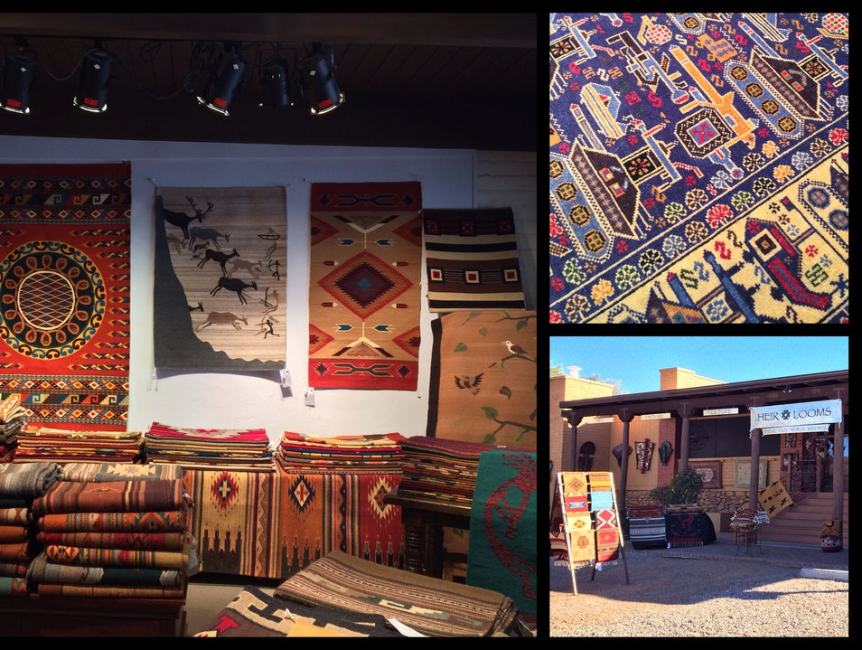 What History Weaves...Incredible Rugs in Tubac Tubac Arizona United States