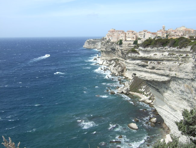 The Cliffs of Bonifacio, Corsica