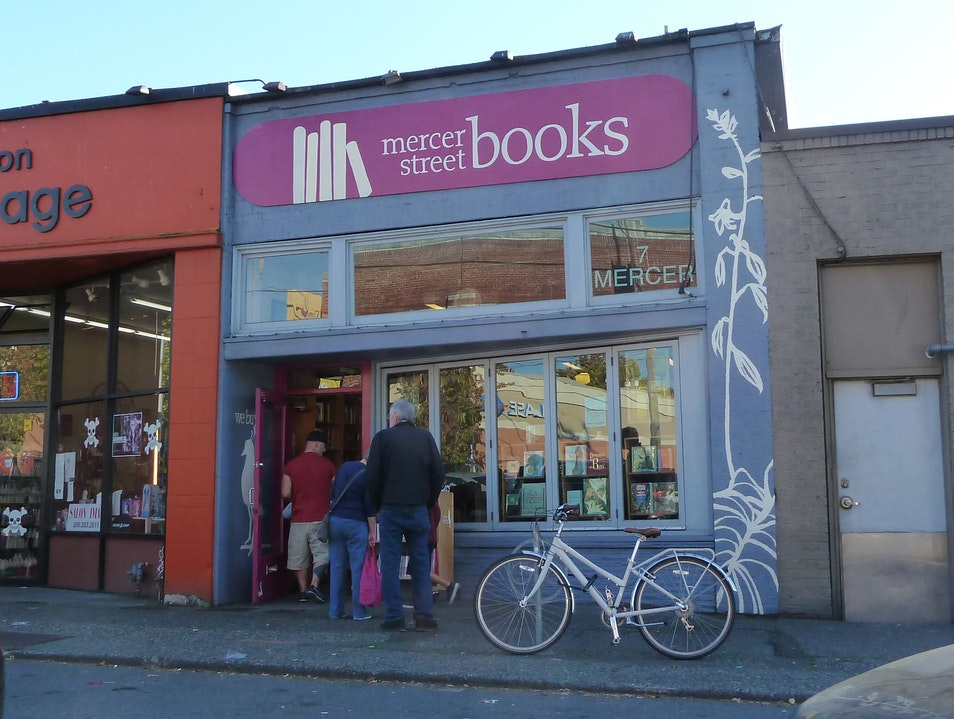 Secondhand Tales at Mercer Street Books Seattle Washington United States