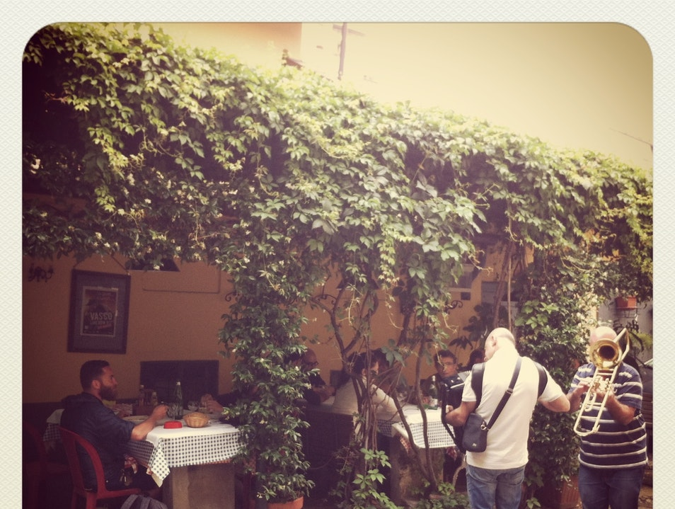 Lunch in a Local Osteria Milan  Italy