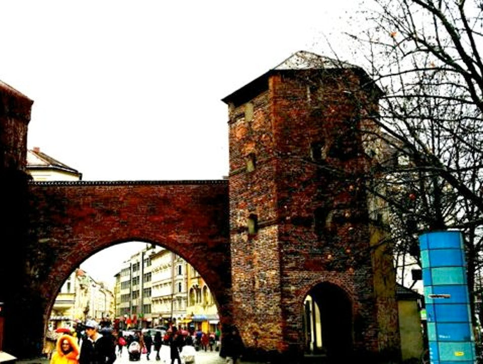 Sendlingertor:  Munich's Southmost Gate Munich  Germany