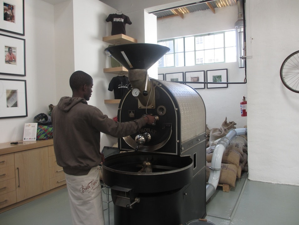 Coffee Roasting at Bean There Johannesburg  South Africa