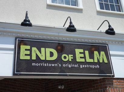 End of Elm Morristown New Jersey United States