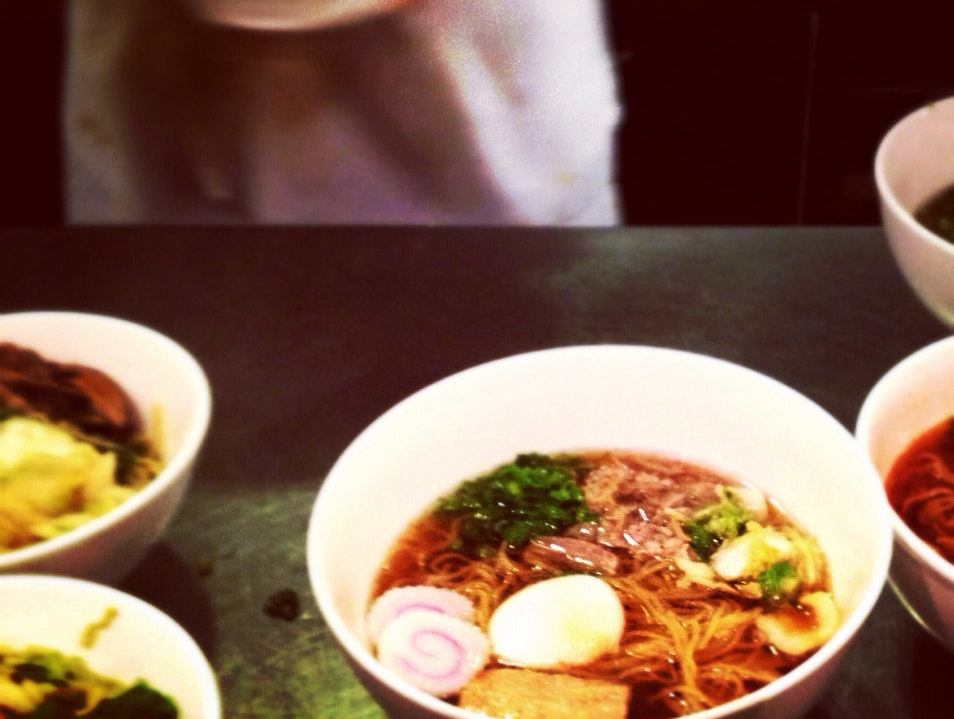 Delicious Ramen in the East Village New York New York United States