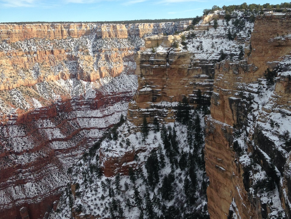 Winter Time North Rim Arizona United States