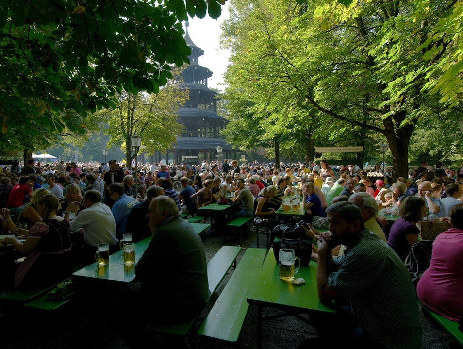 Beer Gardens of Munich Munich  Germany