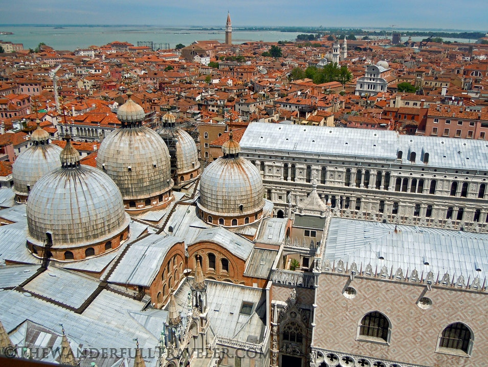 San Marco's Campanile Bell Tower Venice  Italy