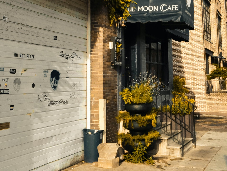 Blue Moon Cafe...A rock and roll funky dining experience Baltimore Maryland United States
