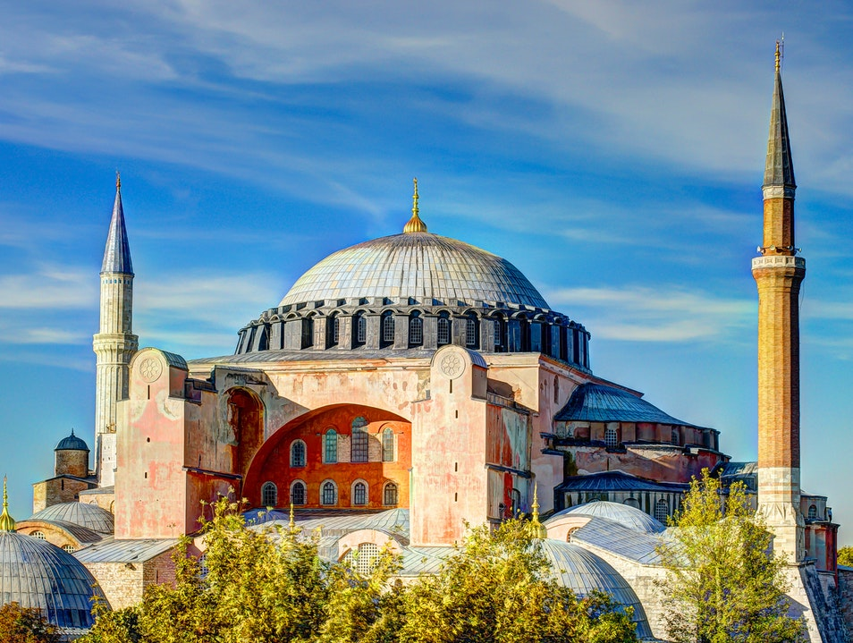 Rooftop Views in Istanbul's Historic District