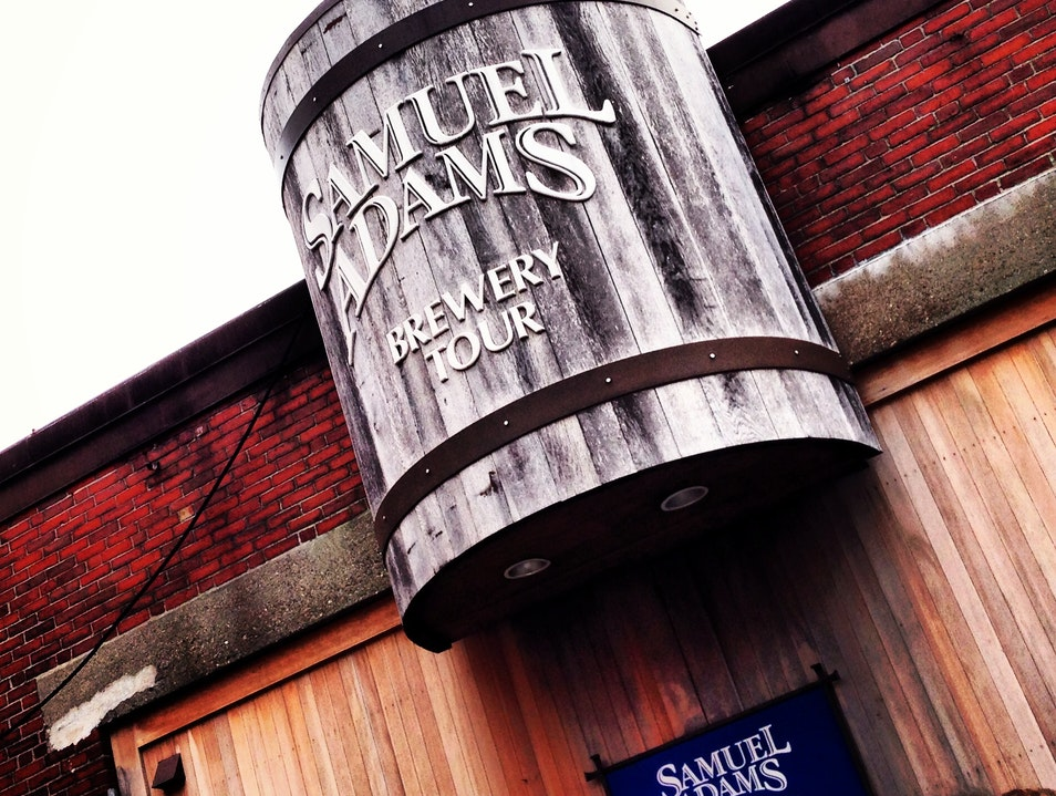 Samuel Adams Brewery Tour Boston Massachusetts United States