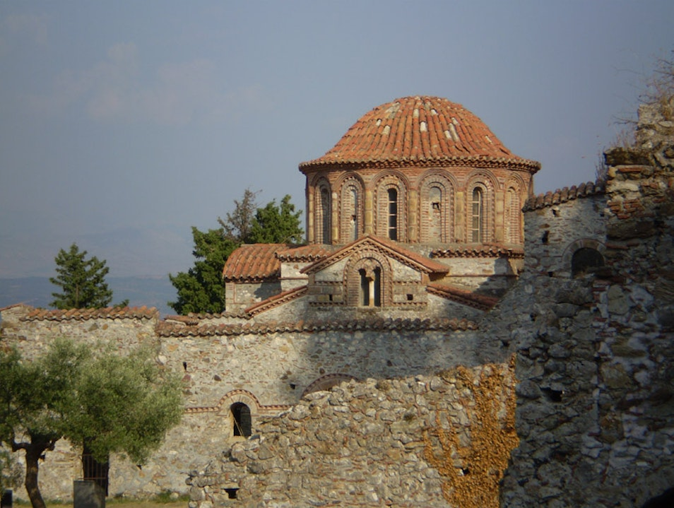 Magical Byzantine Ruins of Mystras