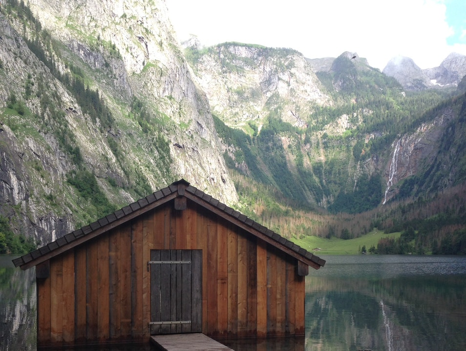 Reflecting on Nature's Beauty in Berchtesgaden