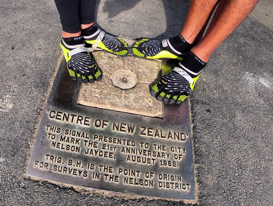 Finding the Center of New Zealand Nelson  New Zealand