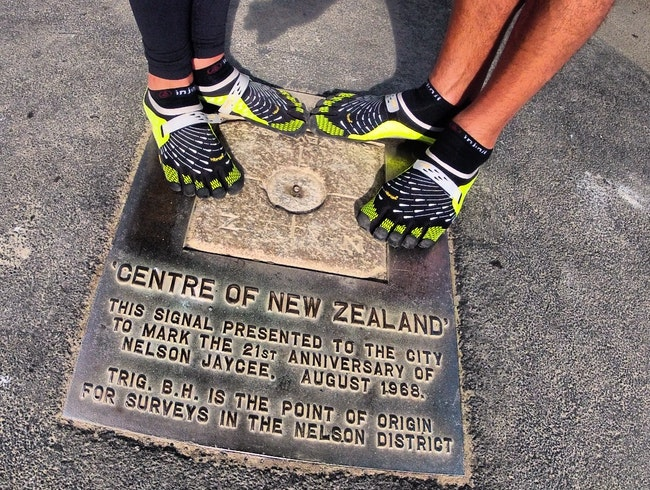 Finding the Center of New Zealand