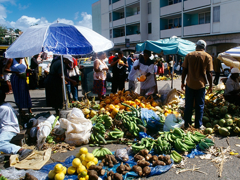 Castries Central Market Castries  Saint Lucia