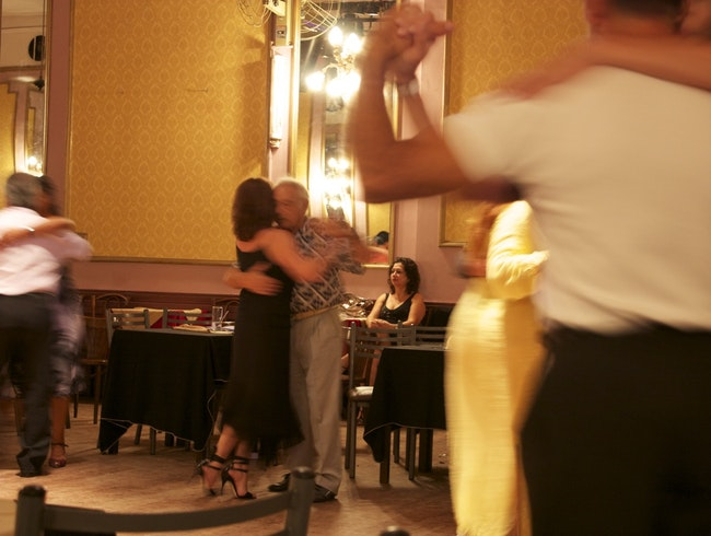 Absorb the melancholy romance of tango