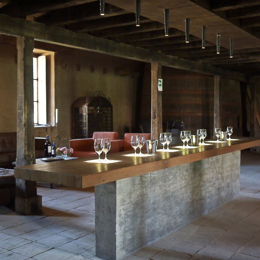 The Neyen winery is one of Colchagua's heritage vineyards, with vines dating to the 19th century.