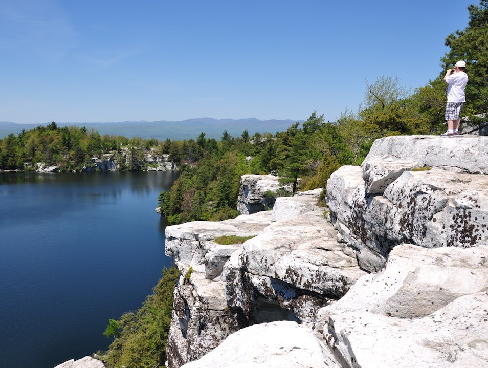 Lake Minnewaska: A Perfect Weekend Getaway Kerhonkson New York United States