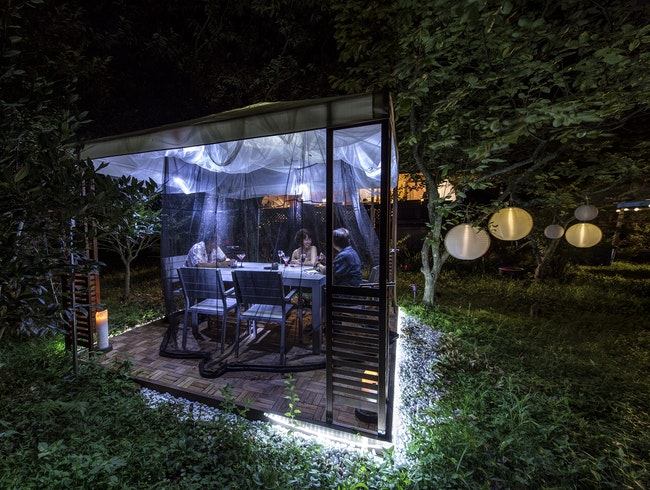 A Culinary Enclave in a Wild Japanese Forest