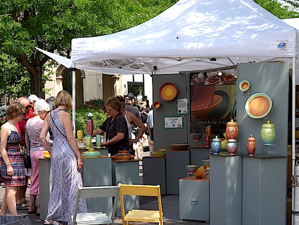 Exploring The Arts At Cherry Creek Arts Festival Denver Colorado United States